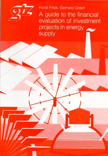 9783880852501: A Guide to the Financial Evaluation of Investment Projects in Energy Supply