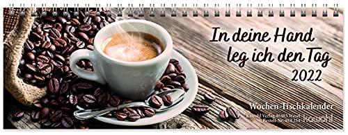 9783880872547: In deine Hand leg ich den Tag 2017: Wochen-Tischkalender