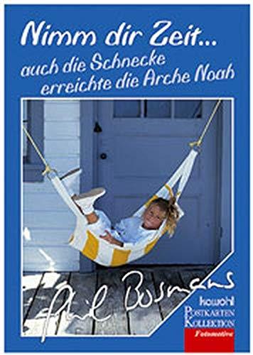 9783880873414: Nimm dir Zeit, Postkartenbuch