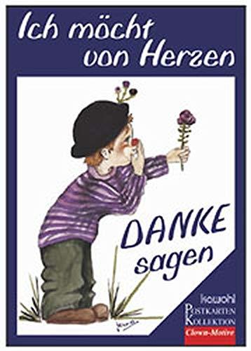 9783880873445: Ich möchte von Herzen, Postkartenbuch