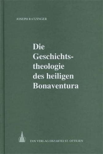 9783880960817: Die Geschichtstheologie des heiligen Bonaventura (German Edition)