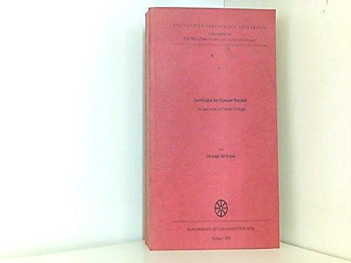 9783880990029: Das Hörspiel der Weimarer Republik: Versuch einer kritischen Analyse (Stuttgarter Arbeiten zur Germanistik) (German Edition)
