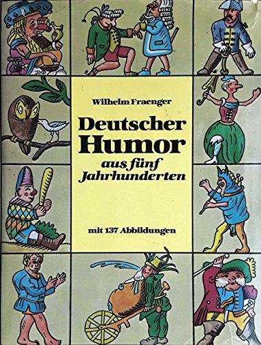 9783881020367: Deutscher Humor aus funf Jahrhunderten