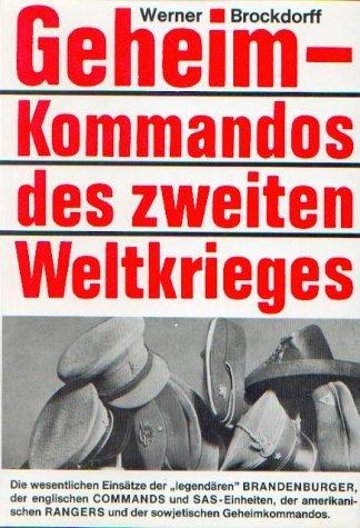 9783881020596: Geheimkommandos des zweiten Weltkrieges