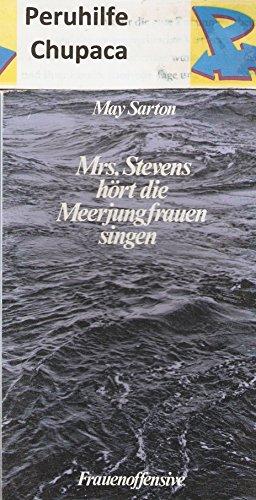 9783881040877: Mrs. Stevens hört die Meerjungfrauen singen. Roman (Livre en allemand)