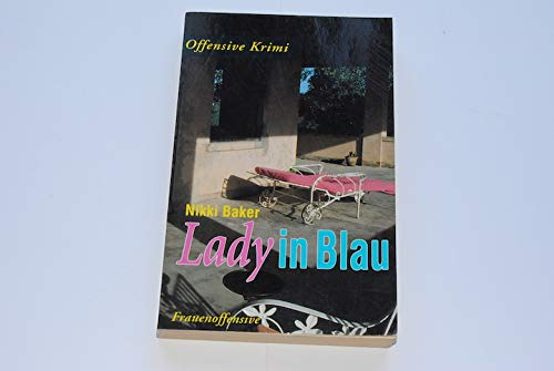9783881042567: Lady in Blau. Krimi