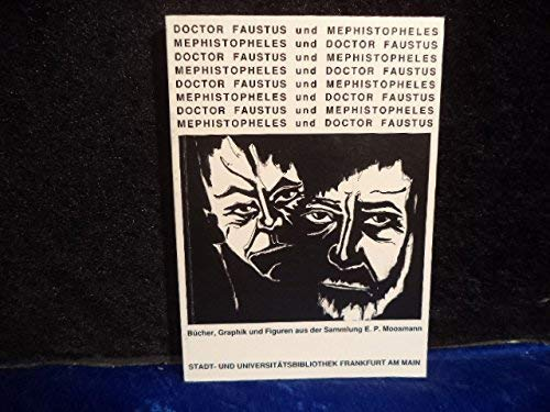 Doctor Faustus und Mephistopheles.Doctor Faustus und Mephistopheles.