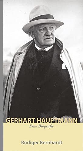 9783881322874: Gerhart Hauptmann: Eine Biografie