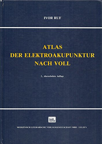 9783881361125: Atlas der Elektroakupunktur nach Voll