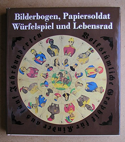 Bilderbogen, Papiersoldat, Wurfelspiel U: Vogel, Heiner