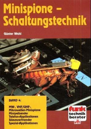 9783881803458: Minispione-Schaltungstechnik