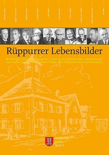 9783881904025: R�ppurrer Lebensbilder (Livre en allemand)