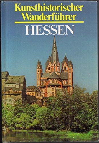 9783881991339: Hessen. Kunsthistorischer Wanderführer (5554 012)