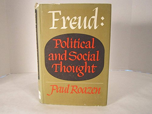9783881993852: Freud: Political and Social Thought.