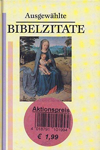 9783881999595: Ausgewählte Bibelzitate