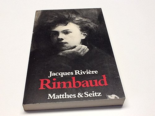 9783882213034: Rimbaud, Suppl.-Bd
