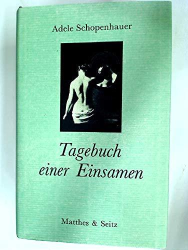 9783882215083: Tagebuch Einer Einsamen