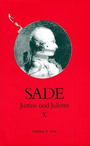 9783882218350: Justine und Juliette 10