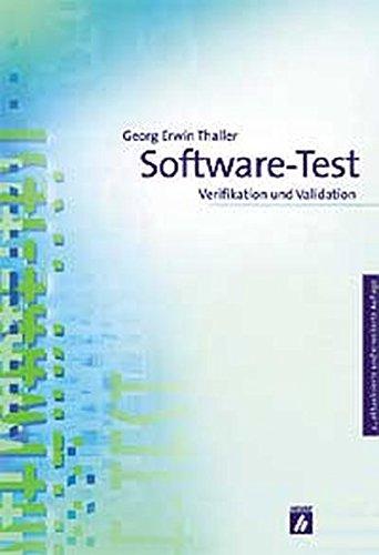 9783882291988: Software-Test: Verifikation und Validation
