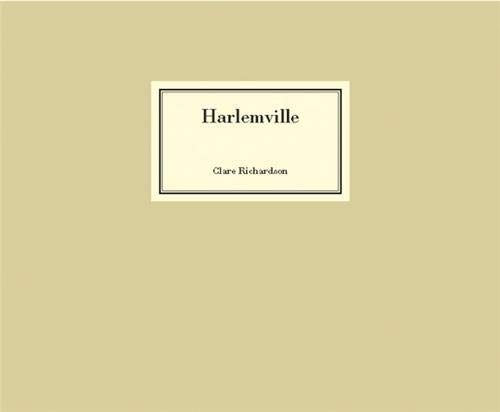 HARLEMVILLE: Photographer-Clare Richardson