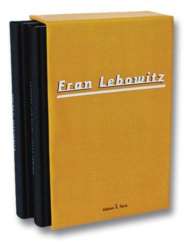 Metropolitan Life/Social Studies: Fran Lebowitz