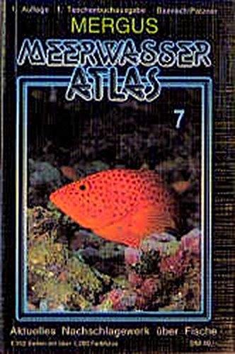 9783882441079: Meerwasser Atlas 7.