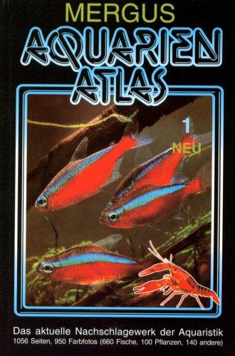 9783882442274: Aquarien Atlas 1. Taschenbuchausgabe: 600 Fischarten, 40 andere Aquarientiere und 100 Wasserpflanzen. Das aktuelle Nachschlagewerk der Aquaristik