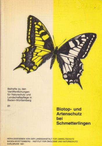 Biotop- und Artenschutz bei Schmetterlingen.