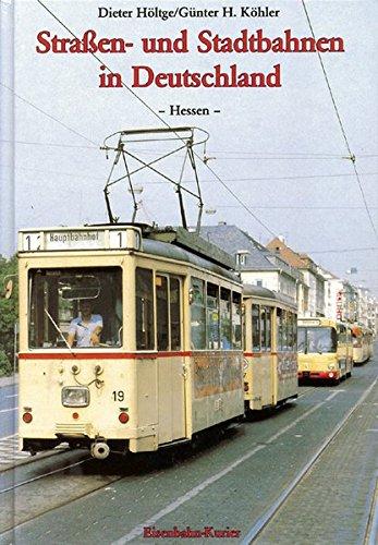 9783882553352: Straßen- und Stadtbahnen in Deutschland 1. Hessen