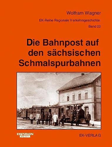 9783882554366: Bahnpost auf den sächsischen Schmalspurbahnen