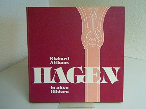 9783882650136: Hagen in alten Bildern. [Pappbilderbuch] by Althaus, Richard