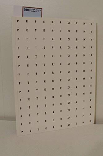 9783882704587: Peter Roehr (Schriften zur Sammlung des Museums für Moderne Kunst Frankfurt am Main)