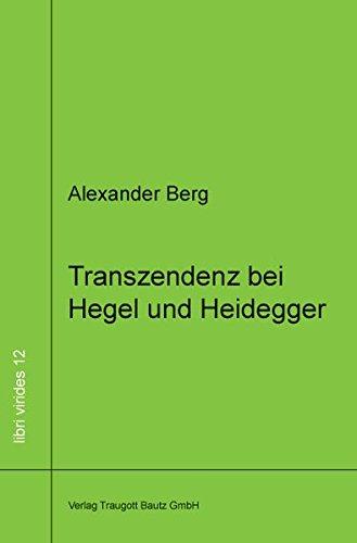 9783883097350: Transzendenz bei Hegel und Heidegger
