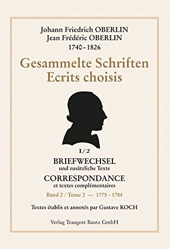 Johann Friedrich Oberlin: Gustave Koch