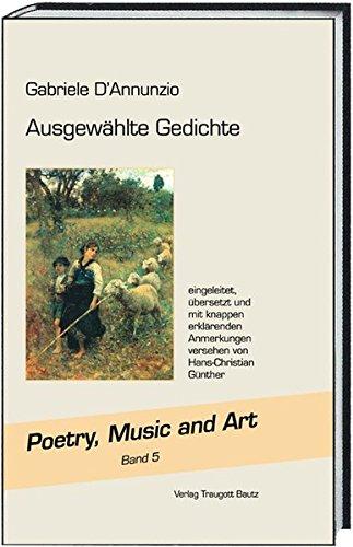 9783883099781: Ausgewählte Gedichte: Poetry, Music and Art Band 5