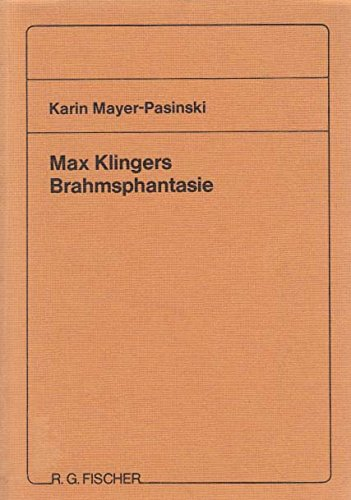 9783883233116: Max Klingers Brahmsphantasie