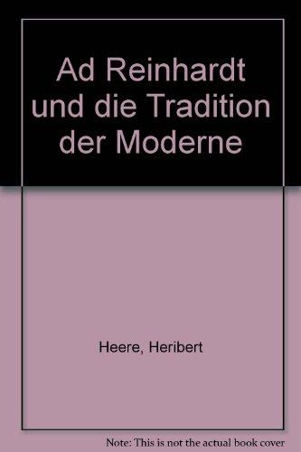 9783883236414: Ad Reinhardt und die Tradition der Moderne