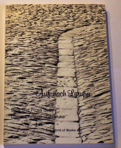 9783883254036: Auf nach Lyrupa. Lyrik und Prosa des Literaturvereins Dachluke e.V.