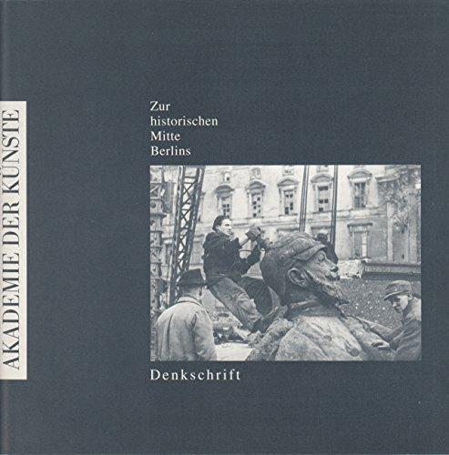 9783883319698: Zur historischen Mitte Berlins. Denkschrift