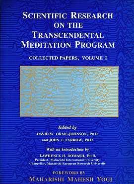 Scientific Research on the Transcendental Meditation Program: Orme-Johnson, David W.;