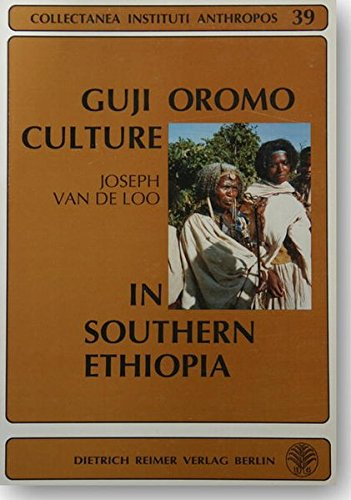 Guji Oromo Culture in Southern Ethiopia. Religious Capabilities i Rituals and Songs: A study of ...
