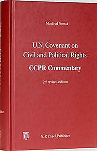 9783883571348: U.N. Covenant on Civil and Political Rights: Ccpr Commentary