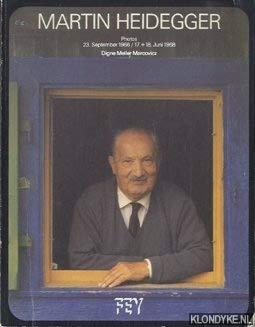 9783883611020: Martin Heidegger: Photos, 23. September 1966, 16. u. 17. Juni 1968 (German Edition)