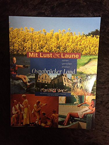 9783883632339: Mit Lust & Laune - Osnabrücker Land