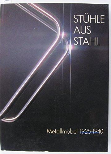 Stuhle Aus Stahl; Metallmobel, 1925 -1940: Geest, Jan Van