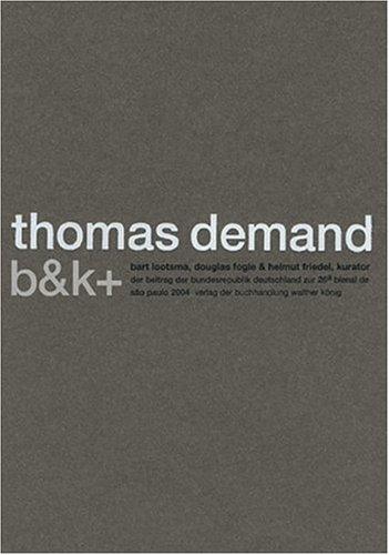 architecture: b & k + Beitrag der: Demand, Thomas: