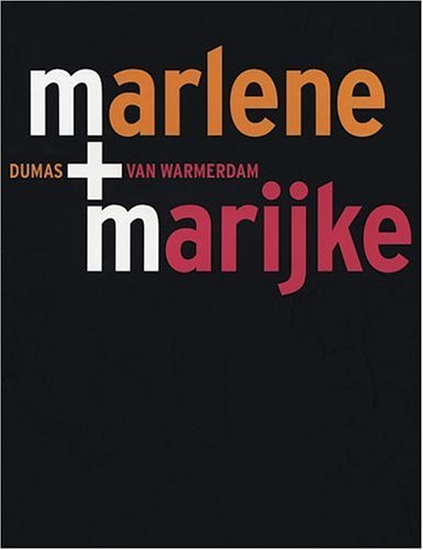 M+M Marlene Dumas, Marijke Van Warmerdam (English Text Edition)