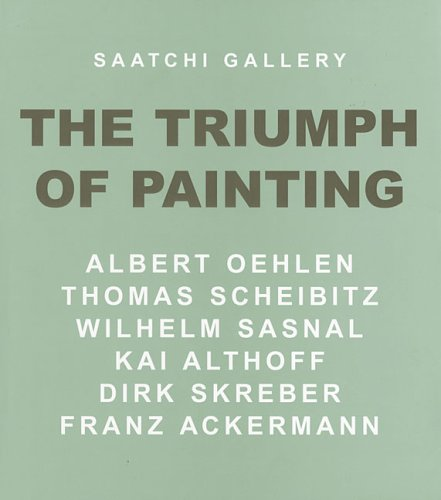 Saatchi Gallery: The Triumph of Painting: Kai Althoff; Alison