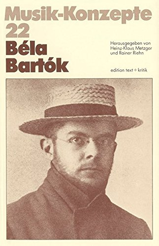 9783883770888: Béla Bartók (Musik-Konzepte)