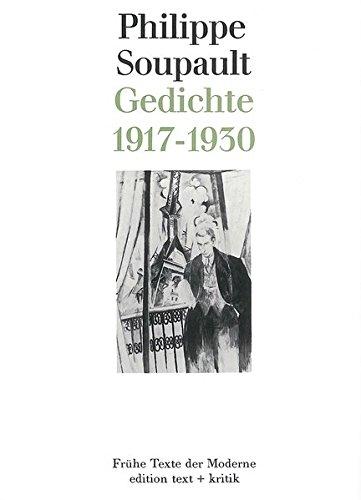 9783883771571 Gedichte 1917 1930 Frühe Texte Der Moderne